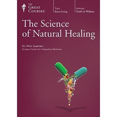 The Great Courses The Science of Natural Healing DVD 4-Disc Set w/ Guidebook NEW