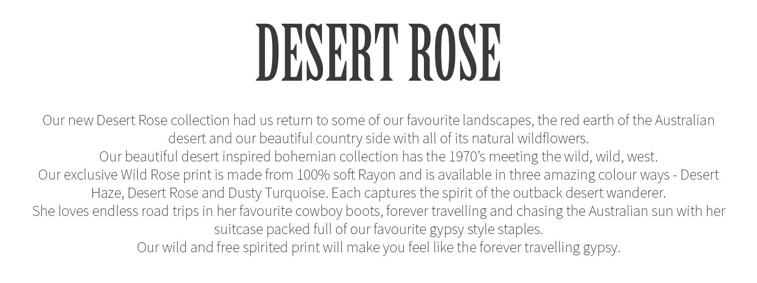 House of Skye Desert Rose