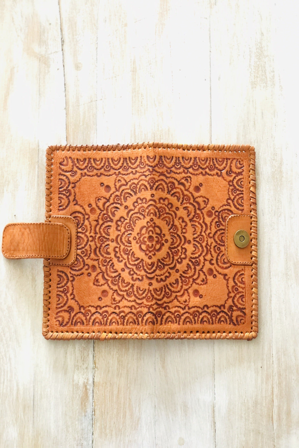 Mandala Leather Wallet Back in Stock
