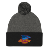 Shark Pop Pom Beanie