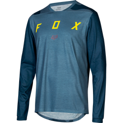Jersey Fox Indicator Camo - Manga Larga - Blue Steel