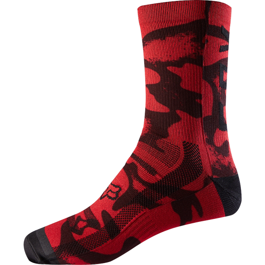 Calcetines Fox Print Trail Sock 8""