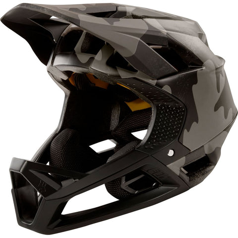 Casco Fox Proframe Black Camo