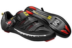 Zapatillas Mavic Ksyrium Elite II Black/Red Racing/Black