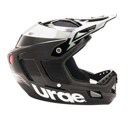 Casco Urge Down-O-Matic RR Noir/Argent/Blanc