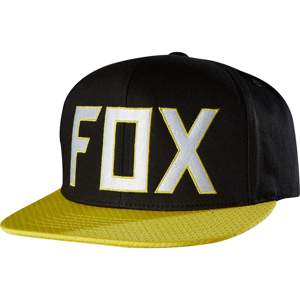 Jockey Fox Assist Snapback  Negro