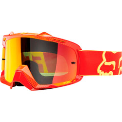 Antiparras Fox AIRSPC · Race Red Yellow / Orange Spk