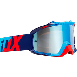 Antiparras Fox AIRSPC · 360 Race Blue-Red / Blue Spark