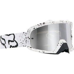 Antiparras Fox AIRSPC · Flight White / Chrome Spark