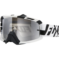 Antiparras Fox AIRSPC · Divizion Spark (Black White / Chrome Spark)