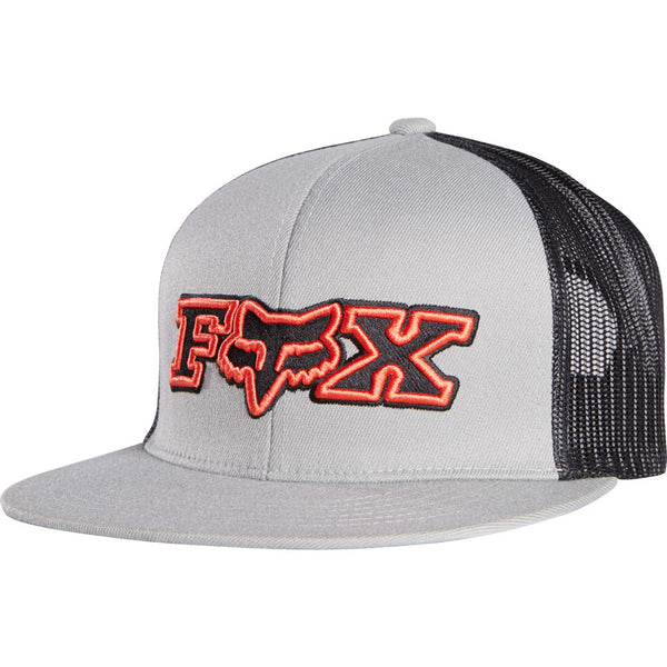 Jockey Fox Supplement Snapback  Grey