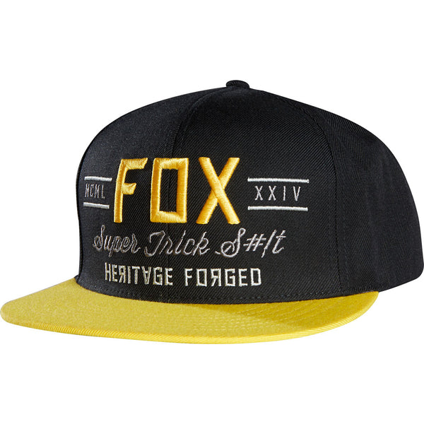Jockey Fox Obscure Snapback · Black