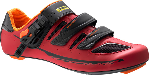 Zapatillas Mavic Ksyrium Elite II Black/Red/Orange