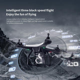 Utoghter 69608 Wifi FPV RC Drone Quadcopter with 720P Gimbal Camera 22mins Flight Time 8520 Motor