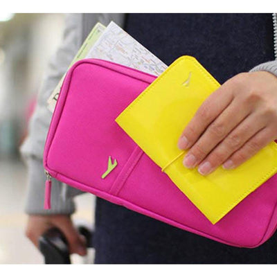 Travel Wallet for Passport, Cards, Tickets