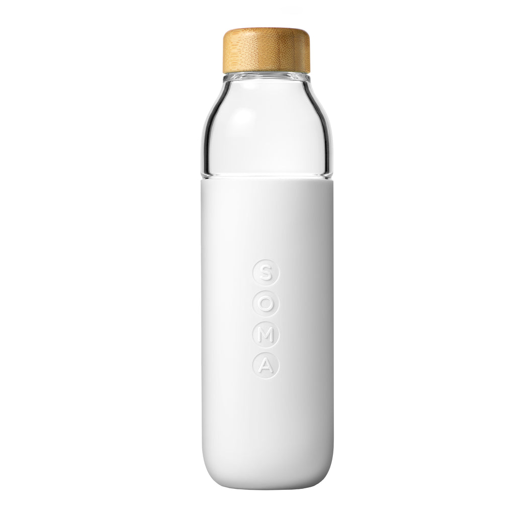 glass water bottle soma
