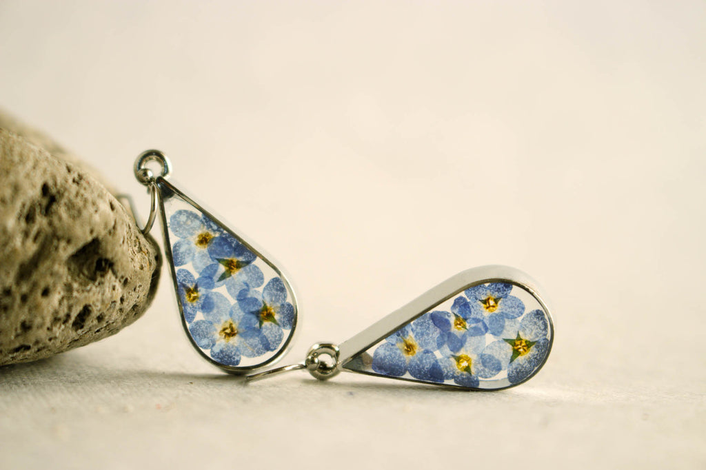 Forget-Me-Not Love Earrings