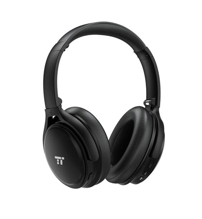 Taotronics TT-BH22 Active Noise Cancelling Wireless Bluetooth Headphones - Black
