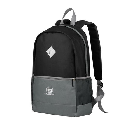 Quest Contrast Backpack - Black/Grey