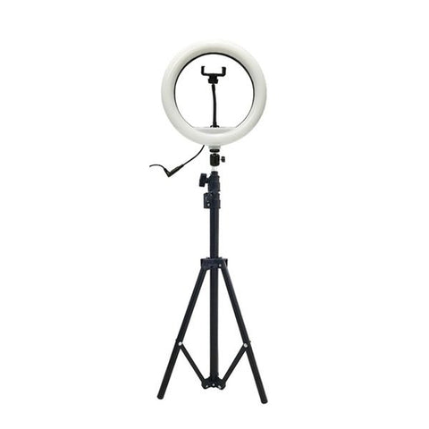 "10"" LED Ring Light with Tripod Stand - Budget"