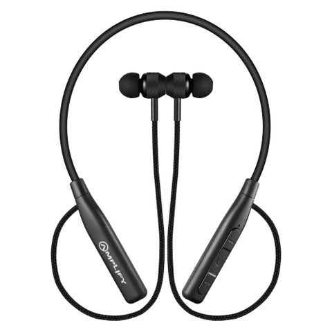 Amplify Cappella Wireless Bluetooth Earphones - Black