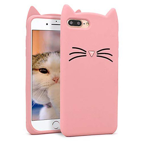 iPhone 7 plus \ 8 plus  Cat Case - Pink