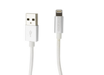 Gizzu Lightning 1.2m Braided Cable - White