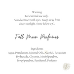 Full Moon Perfumes Lotion - Eve