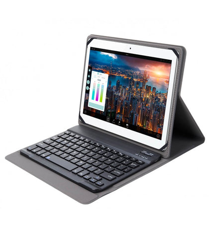 "Astrum Protective Case with Bluetooth Keyboard 9-10"" TB100 - Black"