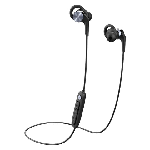 1MORE Fitness E1018PLUS Vi React Sport IPX6 BT In-Ear Earphones - Space Grey