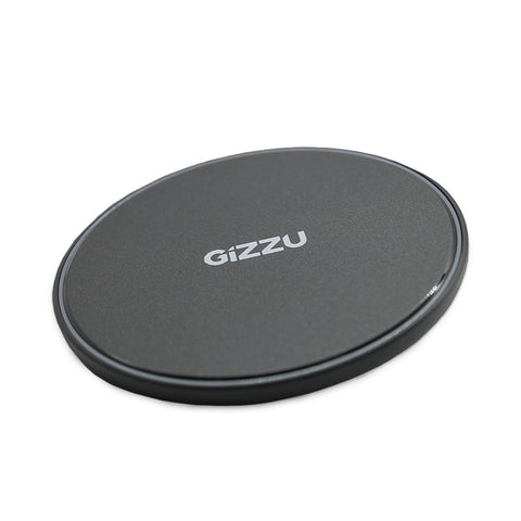GIZZU 15W USB QI Fast Charge Wireless Charging Pad - Black