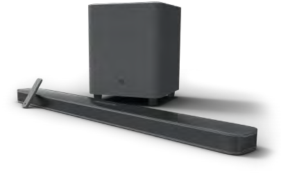 JBL Bar 5.1 Surround Soundbar with Subwoofer - Black