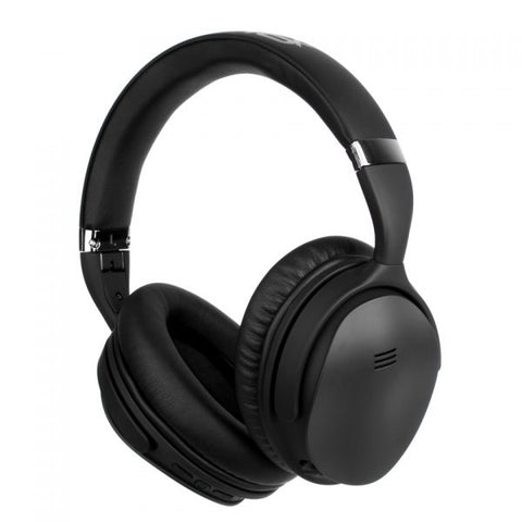 Volkano Silenco Noise Cancelling Wireless BT Headphone - Black