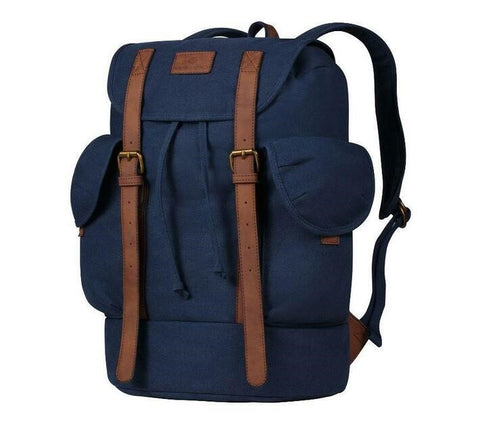 Volkano Urban Canvas Satchel - Navy