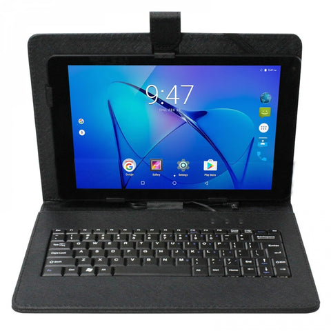 "Connex 10"" Android Tablet and Keyboard Cover - Black"