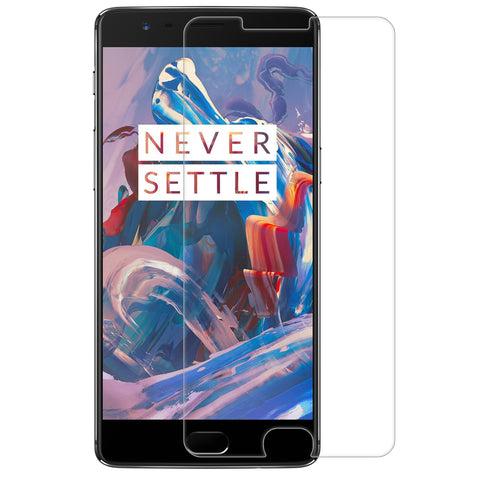 OnePlus 3 / 3T Glass Screen Protector -  Clear