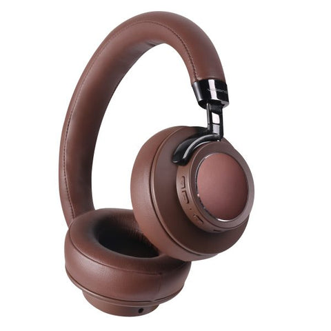 VolkanoX Asista Series Bluetooth Headphones - Brown