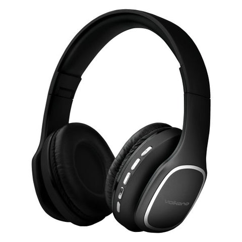 Volkano Phonic Series Bluetooth Headphone - Black