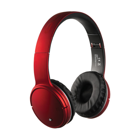 Volkano Cosmic Series Bluetooth headphones – Red