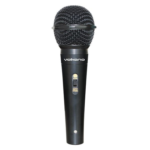 Volkano Ace Series Wired Microphone - Black