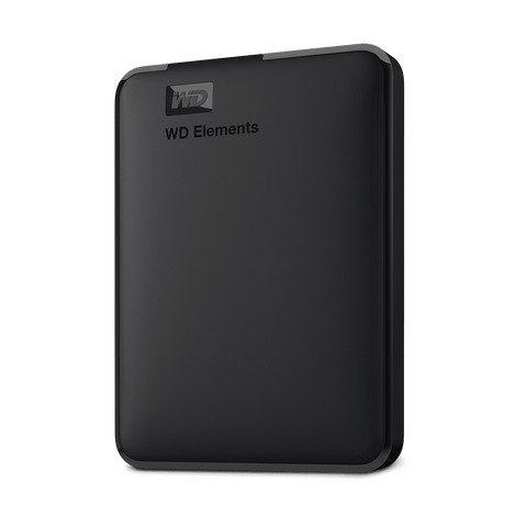 "WD Elements Portable Drive  1TB 2.5"" USB3.0 Black"