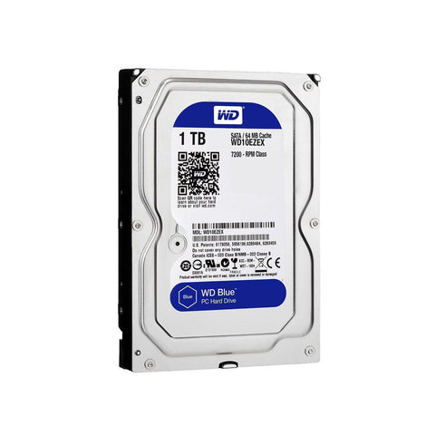 "WD Blue 1TB 3.5"" Internal Hard Drive SATA 64MB"