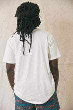 Load image into Gallery viewer, 18 EAST X STANDARD ISSUE HAND-DYED TEE - WHITE