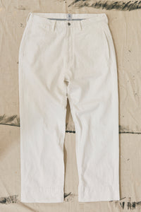 DUNGRI WEST CHINO - UNDYED KHADI DENIM