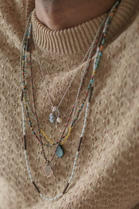 ANKIT GLASS BEADED NECKLACE