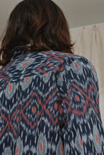 Load image into Gallery viewer, MANDU JUNGLE JACKET - NAVY IKAT