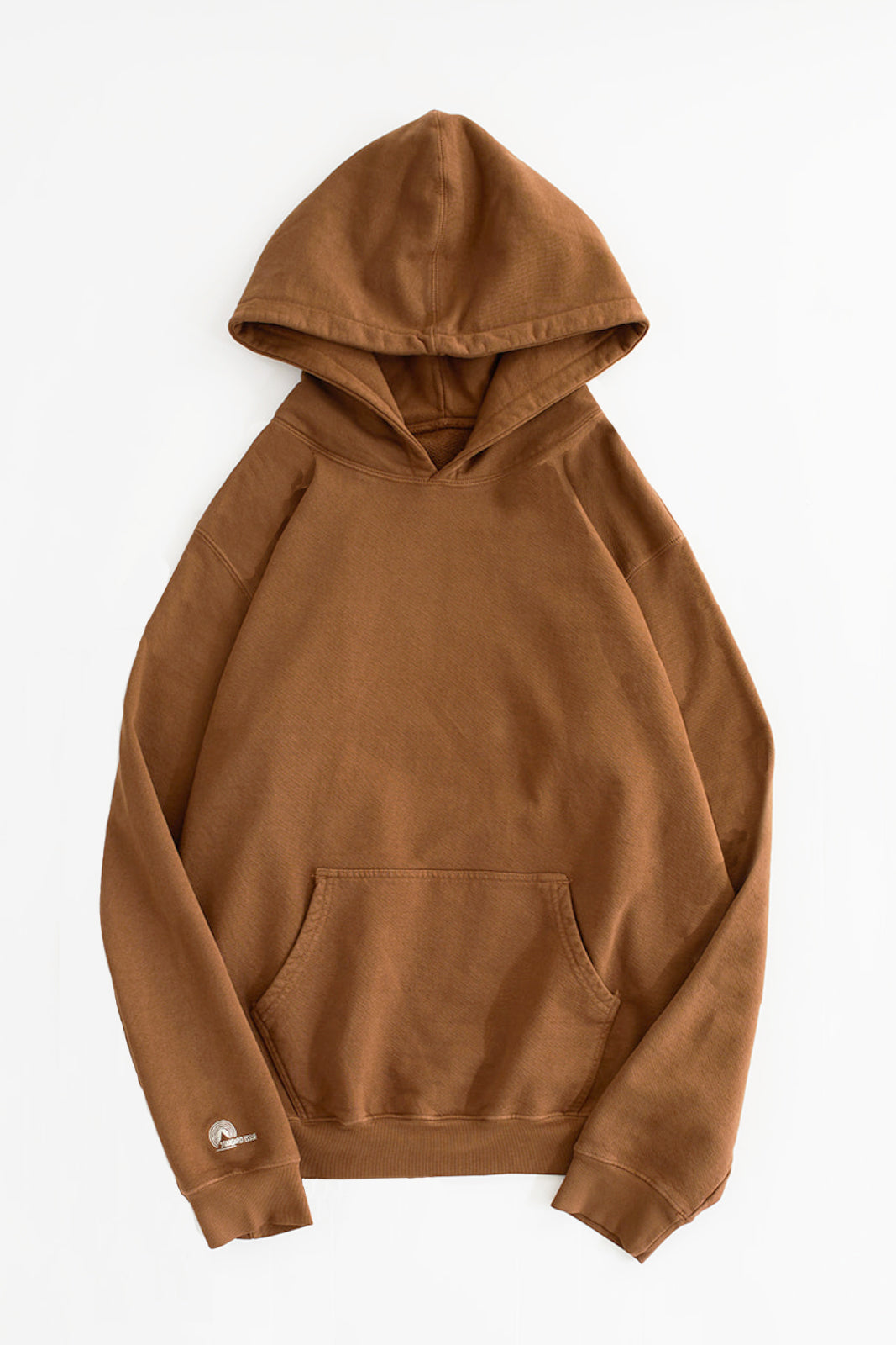 STANDARD ISSUE FOR 18 EAST - TOFFEE HOODED SWEATSHIRT