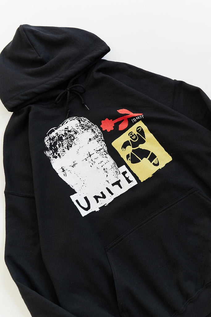 UNITE HOODED SWEATSHIRT - BLACK