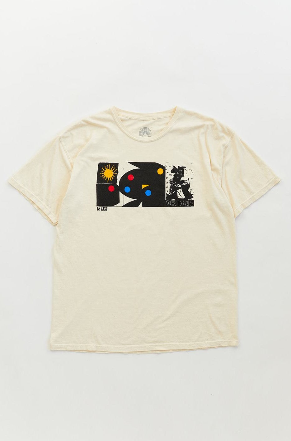 WORLDWIDE TEE - NATURAL
