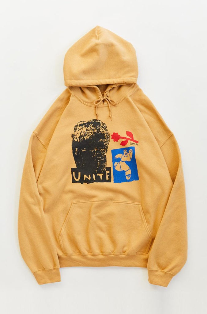 UNITE HOODED SWEATSHIRT - FADED GOLD
